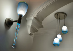 Hand Blown Lighting Features
