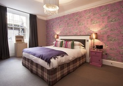 The Tastefully decorated Master Bedroom