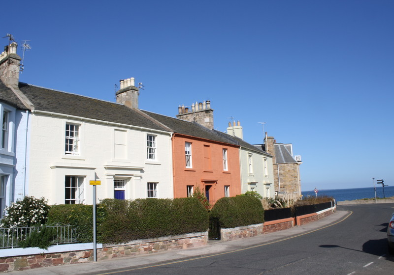 Guillemots - Self catering 3 bedroom house in North Berwick, East Lothian, Scotland .