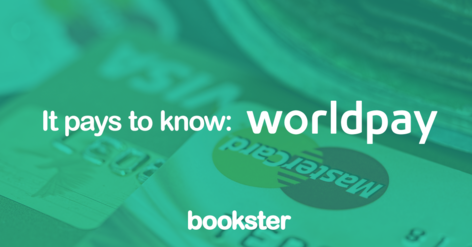 Bookster and Worldpay collaboration - UK payment gateway Worldpay is now connected with Bookster Property Management Software. (© Bookster)