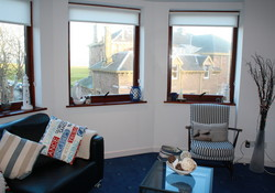 Beach Point North Berwick, self catering holiday accommodation with stunning views