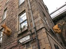 Picture of Niddry Street South 1, Old Town, 130 metres from Royal Mile, Lothian, Scotland - outside view of property with famous Cowgate coo.
