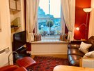 Upper Bow 5 - Super views from the living room in Edinburgh holiday home in a traditional Victorian tenement building.