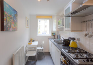 Fully equipped Kitchen seating for 4 people