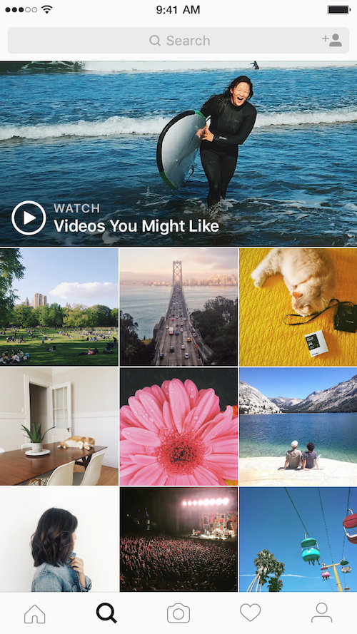 Instagram photos - Using instagram videos and images for holidays