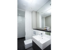 En-suite bathroom with italian shower