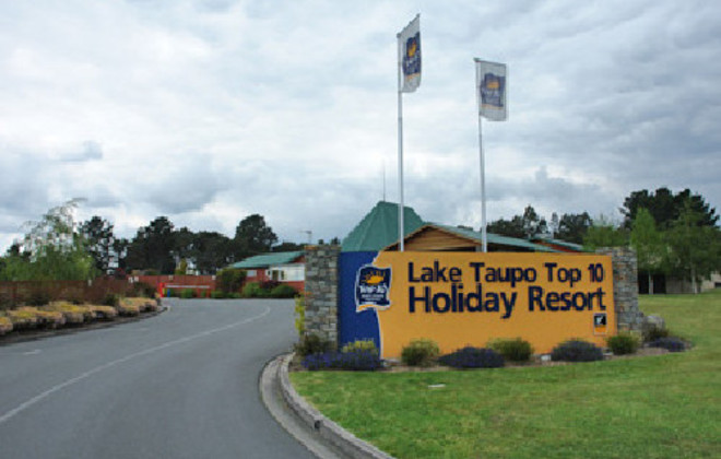 Picture of Lake Taupo Top 10 Holiday Park, Taupo