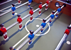 Foosball on Mezzanine Area