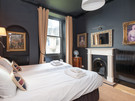 CastleEsplanade-10 - Double bedroom with optional twin or kingsize bed and traditional fireplace