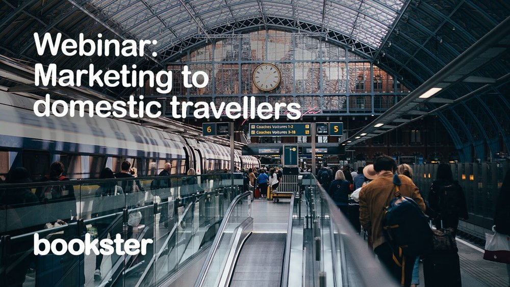 [Webinar] Marketing to domestic travellers - A summary of the answers by Bookster for the BookingPal Webinar on Marketing to domestic travellers.