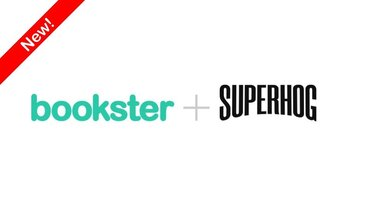 SUPERHOG and Bookster, the online holiday booking system partnership - Bookster, the online holiday booking system has partnered with SUPERHOG, protecting holiday rental managers up to £1 million.