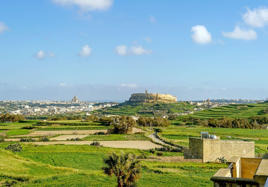 Beautiful views near the Gozo villa