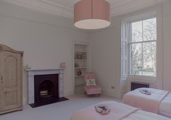 20.Pink Twin Bedroom
