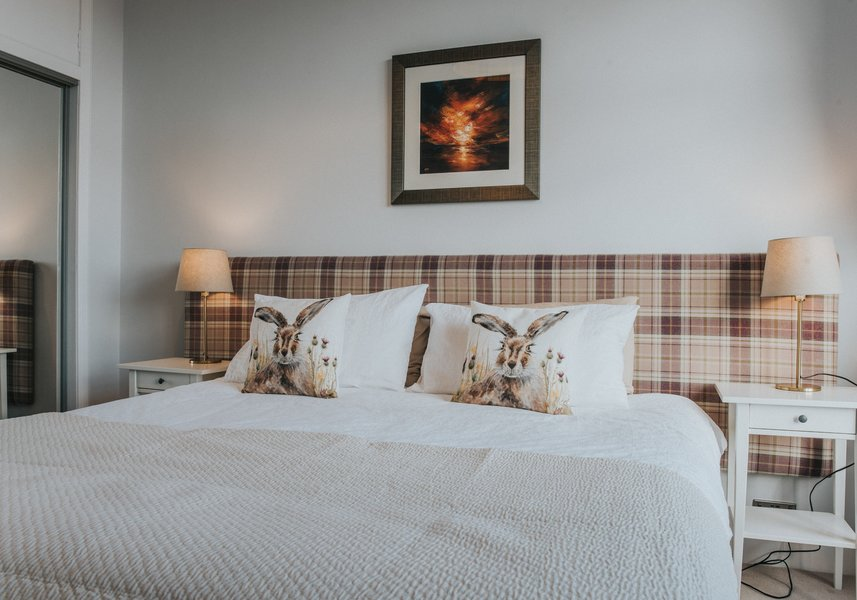 Stylish Bedroom in a Contemporary Scottish style