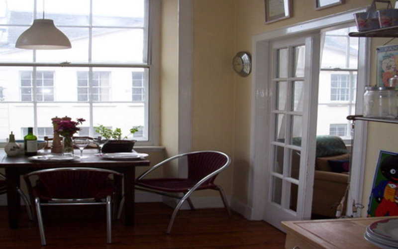 A bit of the dining area