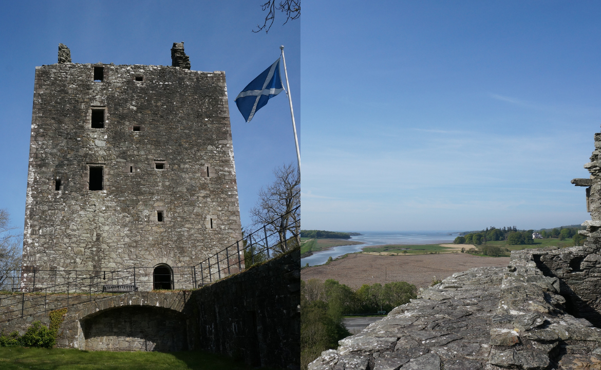 Most beautiful places in Scotland - Gatehouse of Fleet Castle